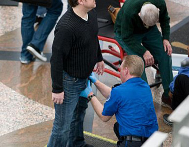 Airport Security Goes Beyond All Bounds
