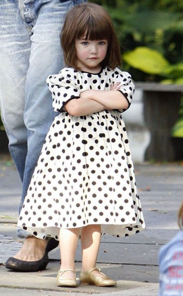 The Same Bored Face of Suri Cruise