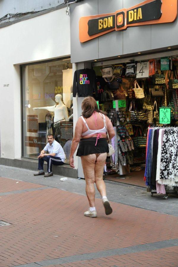 WTF Amsterdam Guy