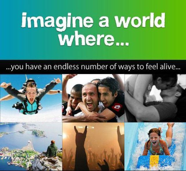 Imagine a World Where...
