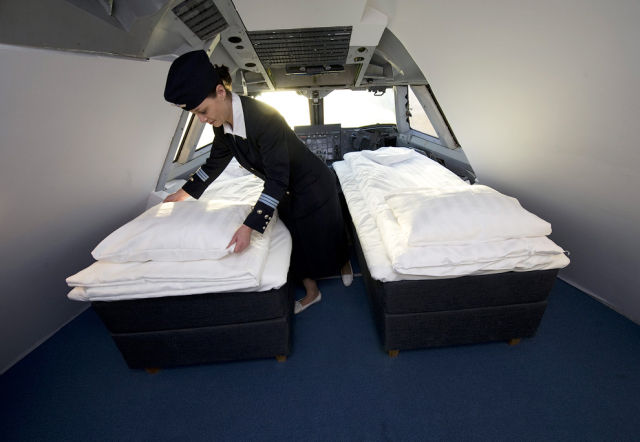 Sweden Hostel Inside a Jetliner