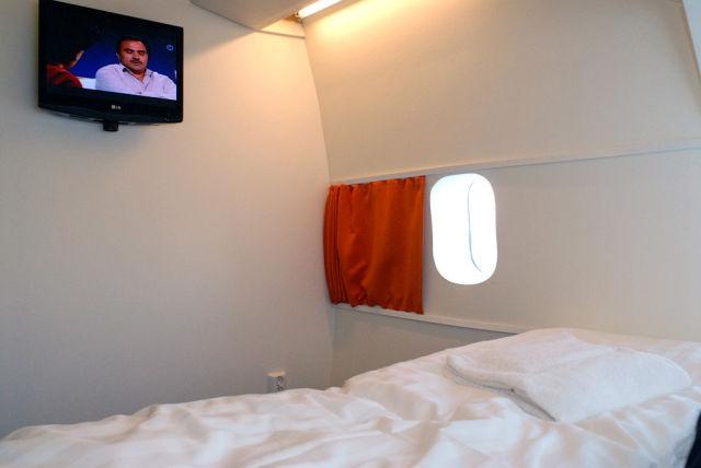 Sweden Hostel Inside a Jetliner