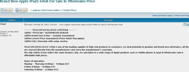 Brand New Apple iPad2 64GB For Sale