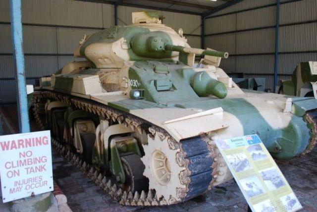 Naughty Australian Tank