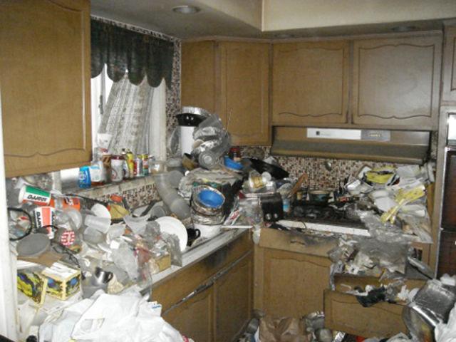 Turning Home into Trash Dump