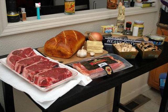 Enormous Beef Sandwich