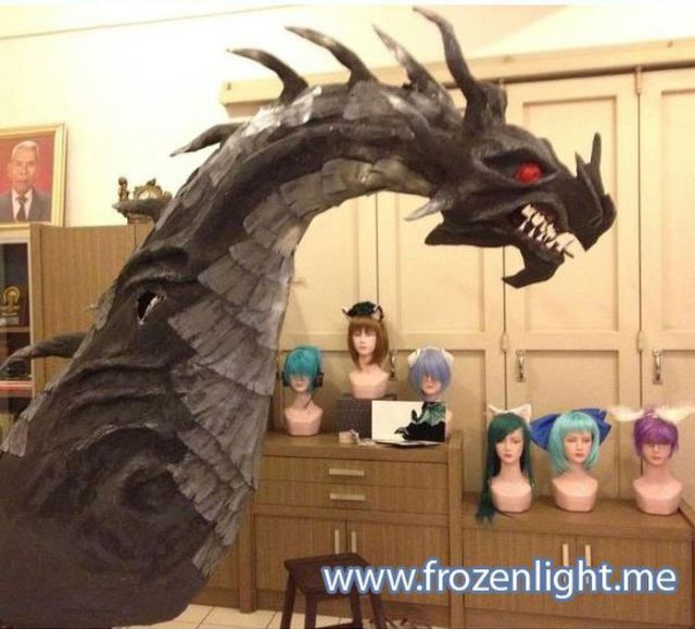 Handmade Skyrim Dragon
