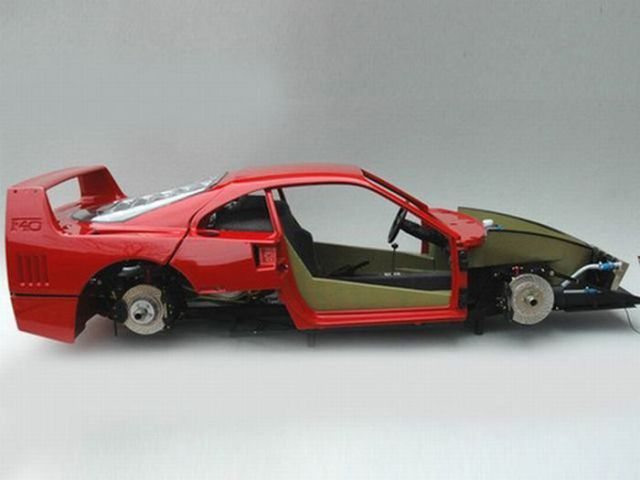 Thorough Miniature Copy of Ferrari F40