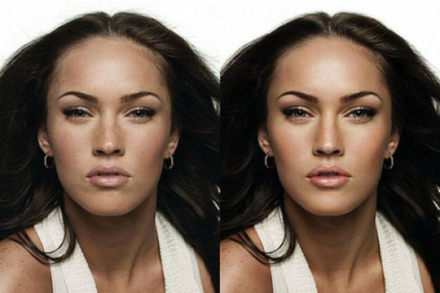 Celebrities before and after photoshop touch ups 25 pics