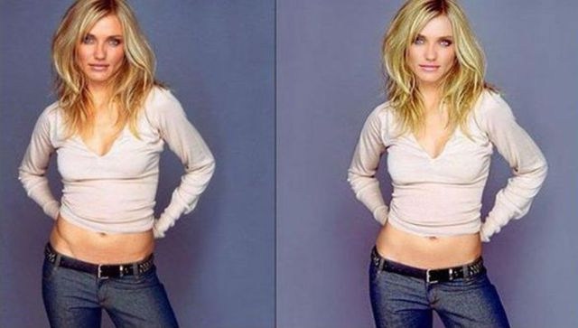 Celebrities Before and After Photoshop Touch Ups
