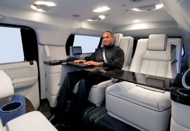 The Becker Cadillac Escalade Mobile Office (22 pics ...