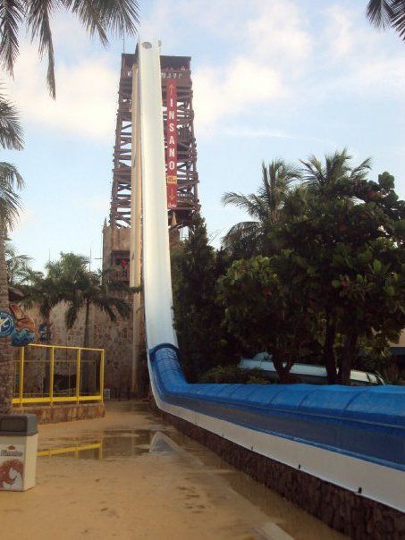 The Most Insane Water Slide on the Planet