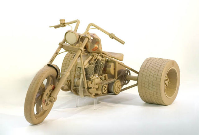 Astonishing Cardboard Sculptures