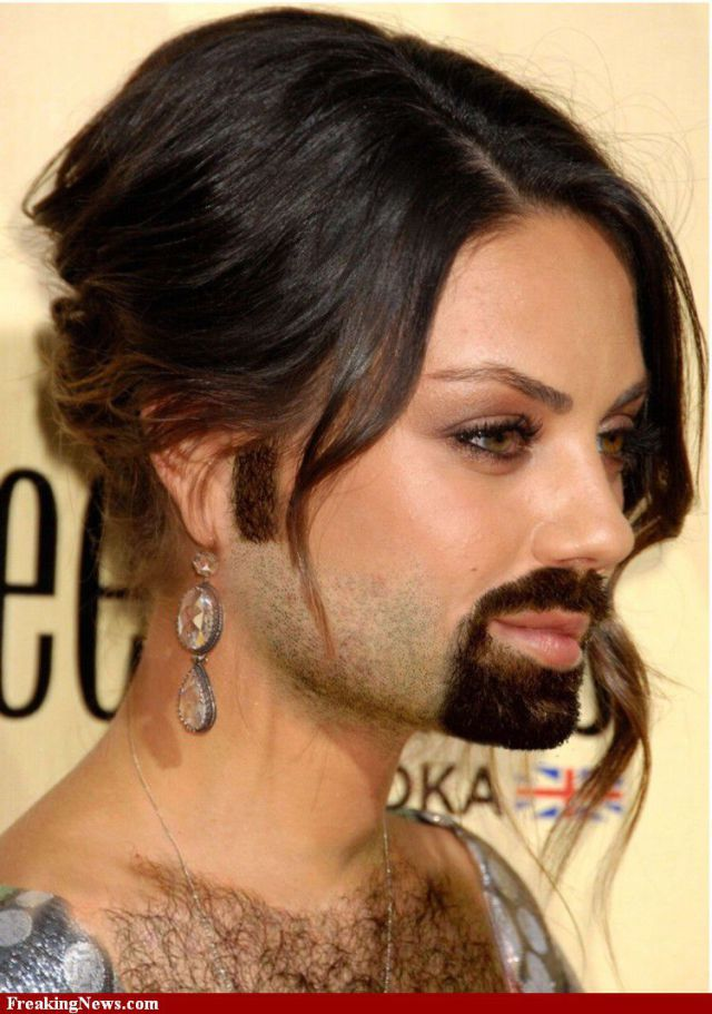 Famous Women Sprout Beards Part 2 48 Pics Izismile Com