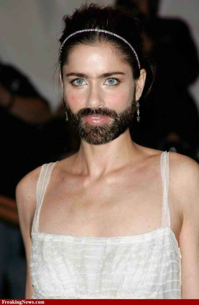 Famous Women Sprout Beards. Part 2