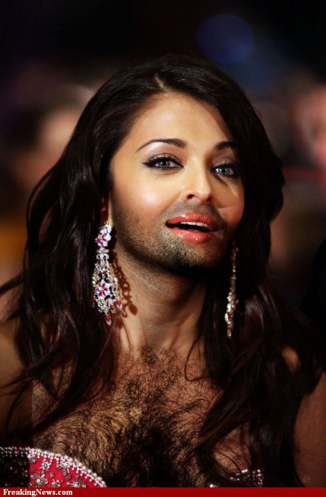 Famous Women Sprout Beards. Part 2