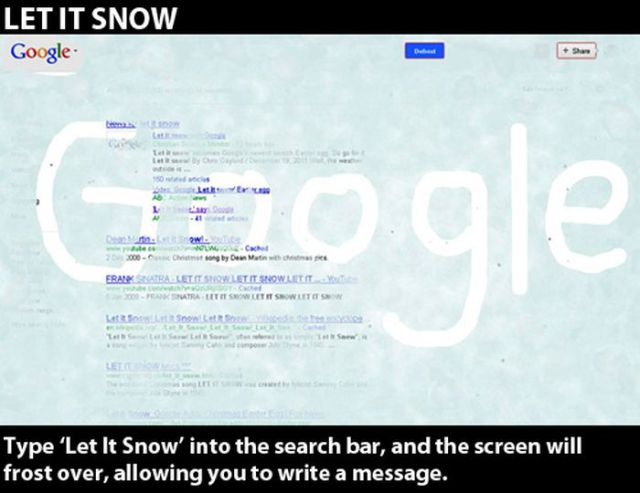Funny Google Easter Eggs