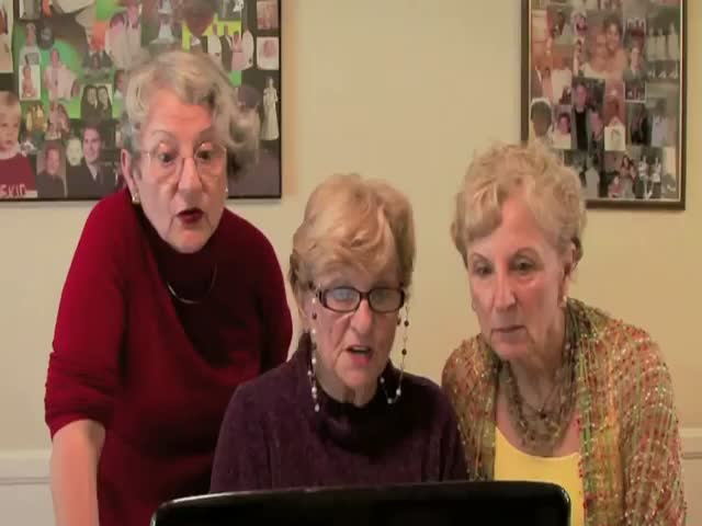 3 Grandmas Watch the Kardashian Sex Tape. Simply Hilarious