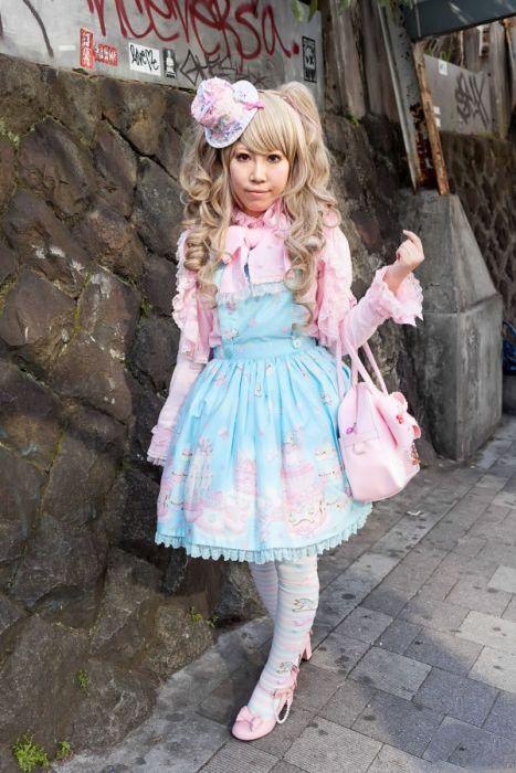 Street Fashion in Japan. Part 2