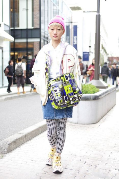 Street Fashion in Japan. Part 2