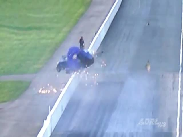 Photographing Dragsters Can Be Very Dangerous