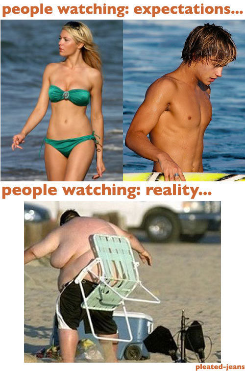 How Beach Expectations Turn Into Reality
