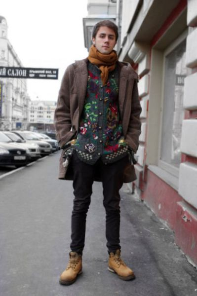Language In 45 And 47 Stella Street: Moscow Men's Terrible Street Fashion (70 Pics)