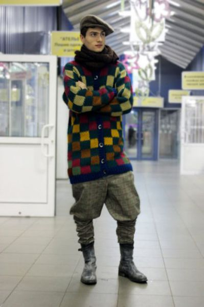 Moscow Men's Terrible Street Fashion