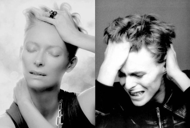 Tilda Swinton and David Bowie Have to Be the Same Person