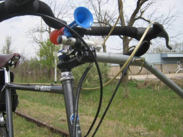 Train Track Bike