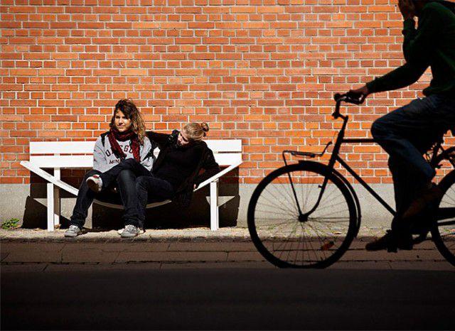 Crazy Benches Installed in Belgium