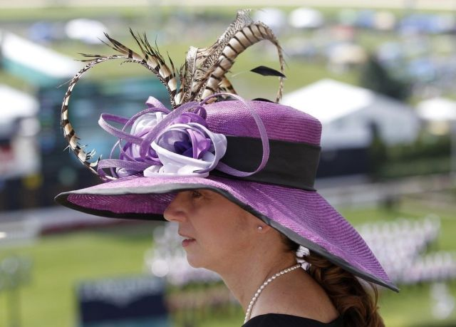 Crazy Hats at the Kentucky Derby