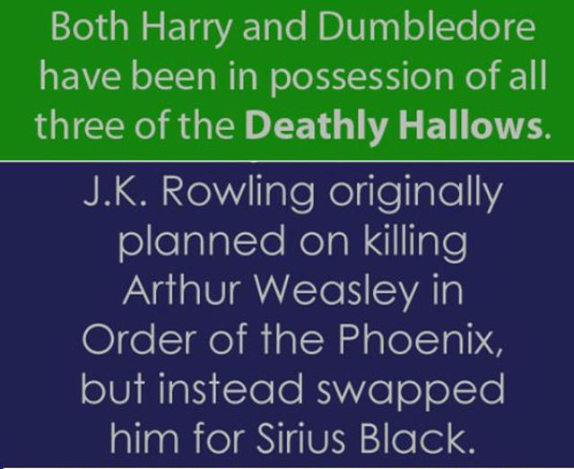 Curious Facts about the Harry Potter World