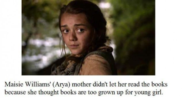 Facts You Might Not Know About Game of Thrones