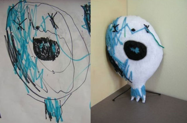 Kids Drawings Turned Into Real Life Toys