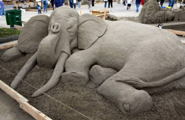 These Aren't Your Average Sand Castles