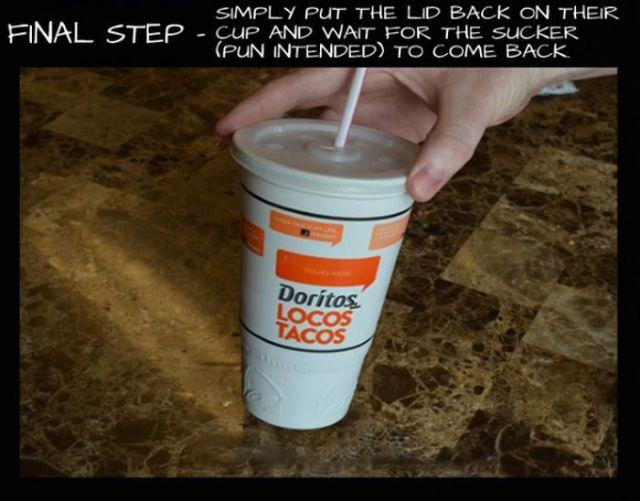 Fast Food Sauce Prank