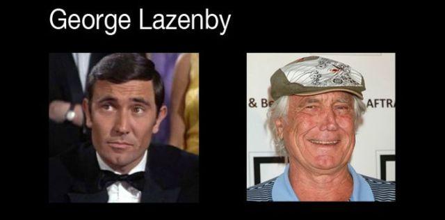 How the Bond Actors Look Now