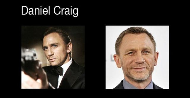 How the Bond Actors Look Now
