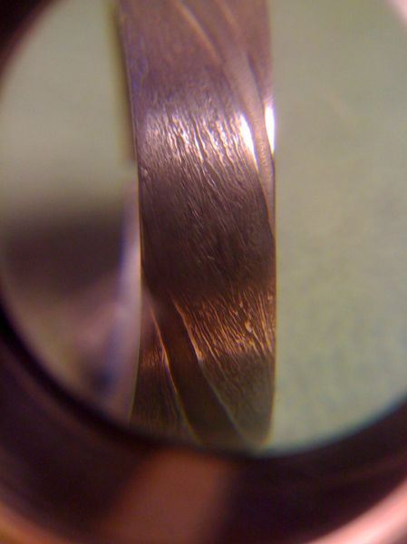 Home Made Wedding Ring Forged Out of a Meteorite