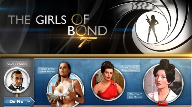 50 Years of Bond Girls