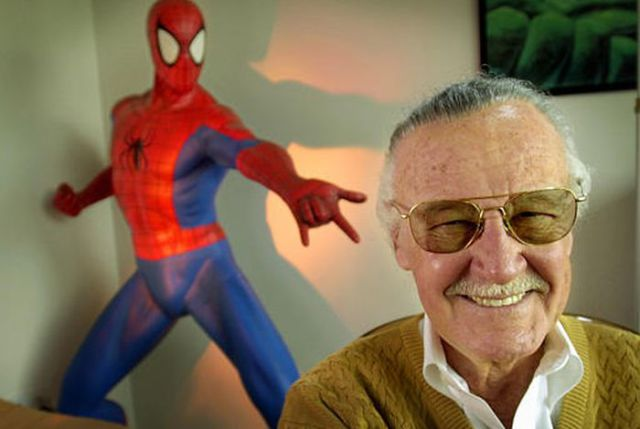 Stan Lee Plays Cameos in Marvel Comics Movies