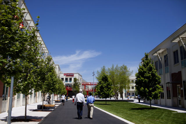 Facebook Employees Now Have Their Own Campus