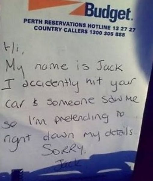 Funny Parking Notes. Part 2