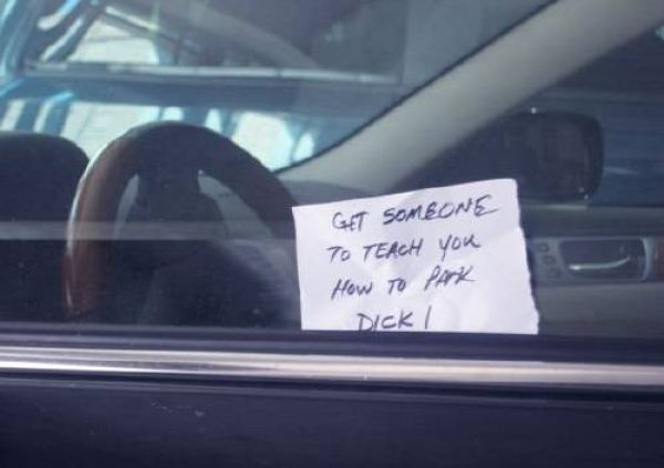 Funny Parking Notes. Part 2 (21 pics) - Picture #21 ...