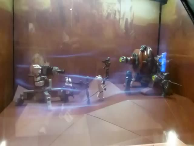Most Awesome Thing Displayed in a Toy Store Ever!
