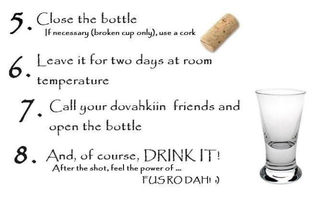 The Wicked Dragonborn Vodka Recipe