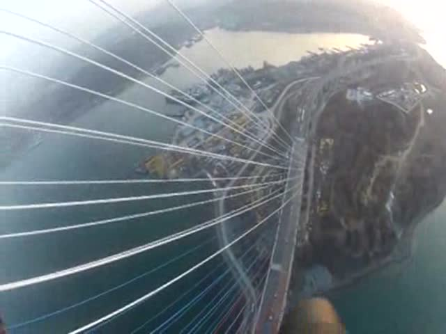 Don't Watch This if You Have a Fear of Heights