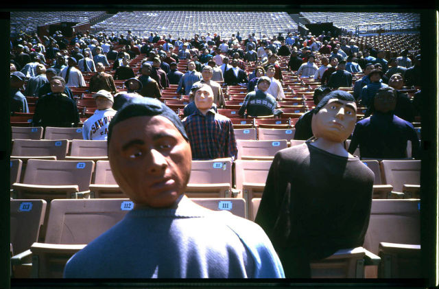 Movie Crowds Created with No CGI