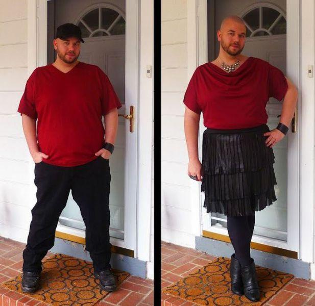 Blogger Guy Advocates Radical Fashion Changes